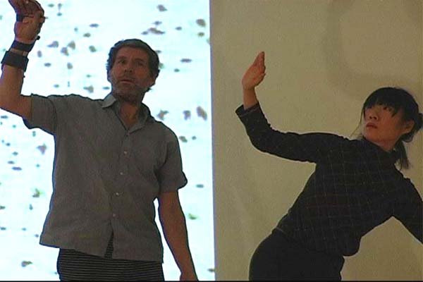 Daniel Lepkoff és Sakura Shimada