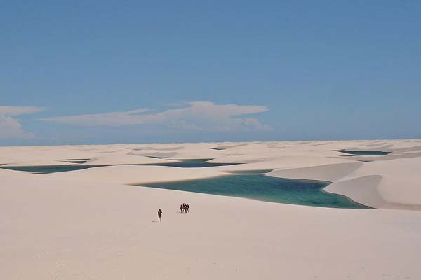 Gyönyörű természeti csoda a lagúnás sivatag