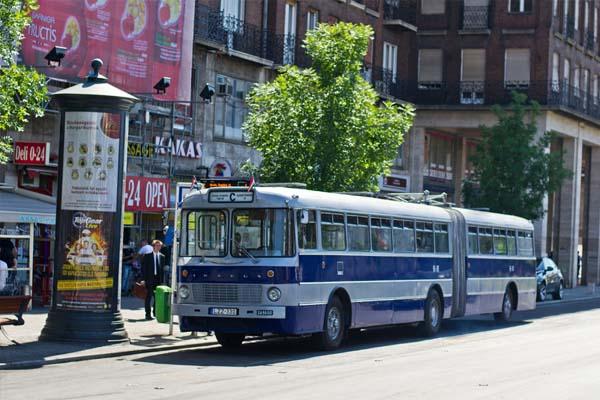 'Nostalgia' Ikarus service (bkk.hu)