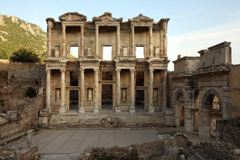 Törökország Epheszosz antik romváros