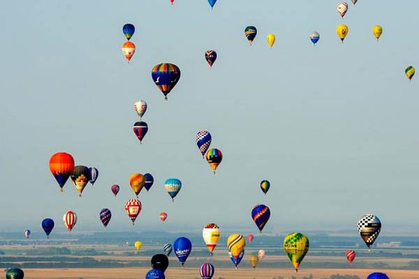 Ismét gyönyörű volt a Debreceni hőlégballon Eb  4793073517