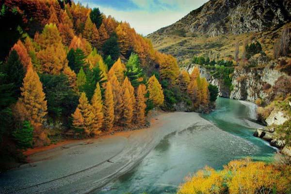 gyönyörű ősszel a természet