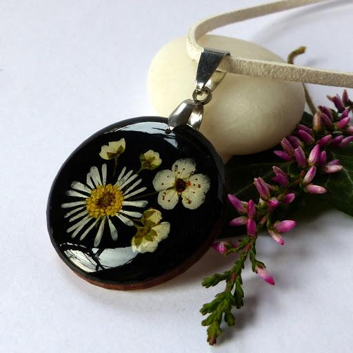 Bükki virág ékszerek