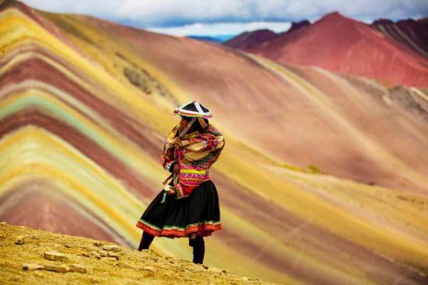 Peru Szivárvány hegy
