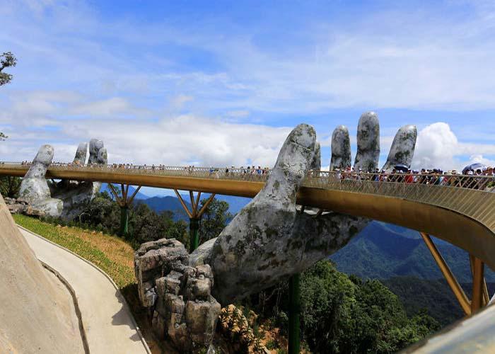 Vietnám új hídja olyan, mint egy Gyűrűk ura díszlet