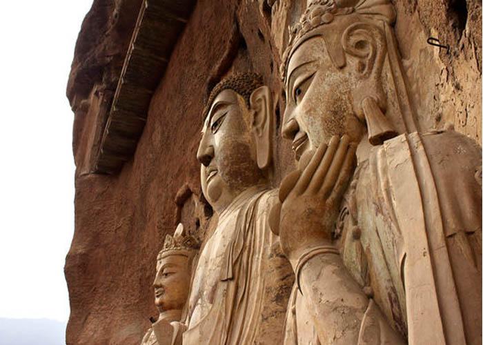 Maijishan Grottoes buddhista barlang templom