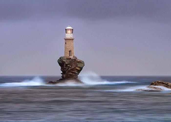 Tourlitis világítótorony, Görögország
