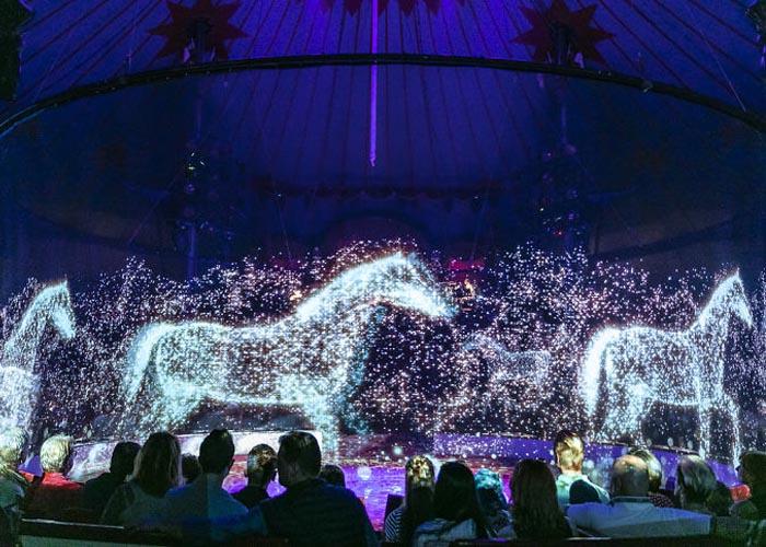 Egy német cirkuszban beszüntették az állatos produkciókat – hologramokat használnak az élő állatok helyett