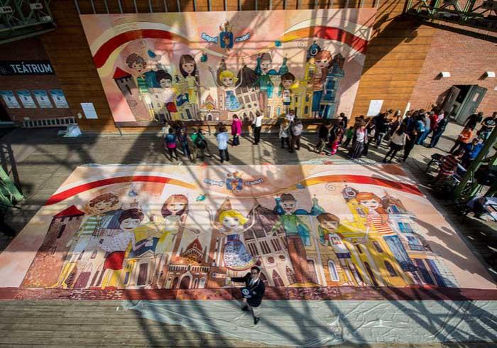 A világ legnagyobb képeslapja, magyar Guinness rekord