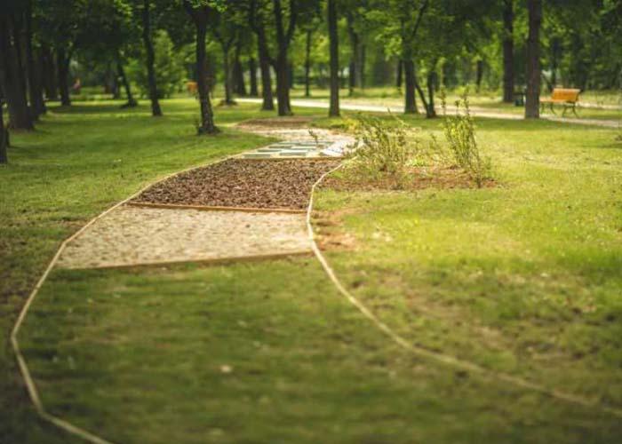 (Bükfürdői Kneipp Park / Fotó: Csepregi Tibor)