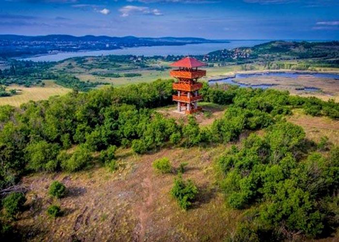 Apáti-hegyi Őrtorony Kilátó, Tihany