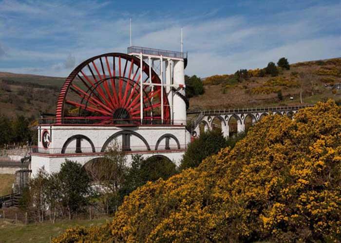 Laxey Wheel, a világ legnagyobb vízikereke