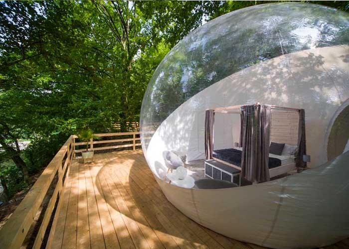 Noszvaj buboréksátor extrém szállások