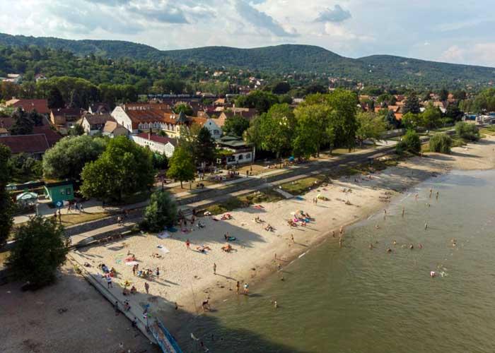 Nagymarosi szabadstrand Dunakanyar