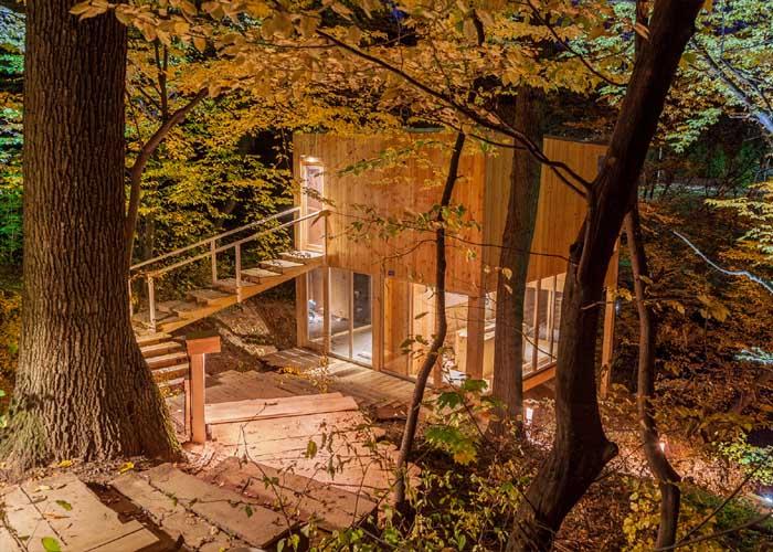 Treehouses lombházak