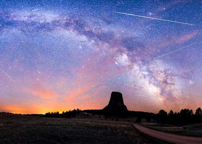 Csodaszép az augusztusi csillaghullás
