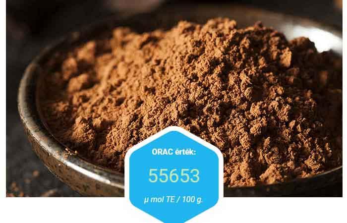 Kakaó, étcsokoládé erős antioxidáns véd a rák ellen