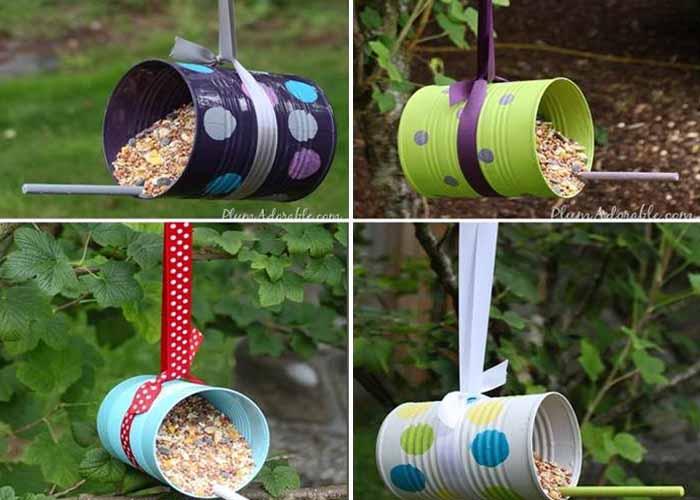 10 kreatív madáretető, amit a gyerekekkel is elkészíthetünk