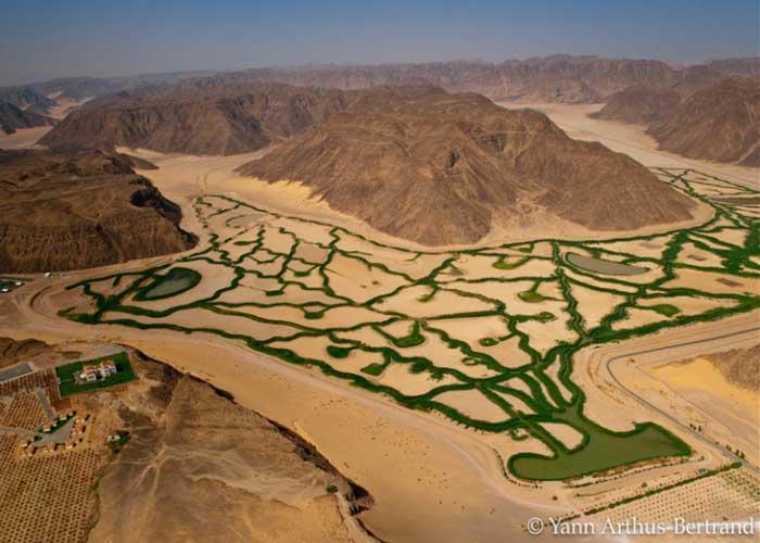Jordánia sivatagban ökológiai gazdálkodás