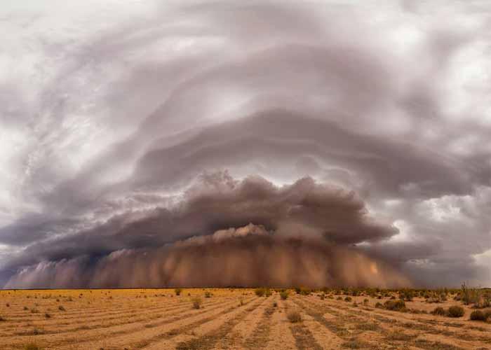 Apokalipszis - homokvihar Arizónában