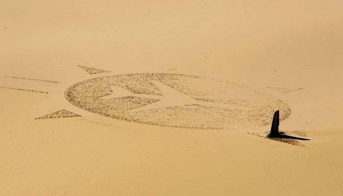 vásárol új minőségi termékek promóciós kód Különös emlékmű a Szahara közepén – életnagyságú repülőgép ...