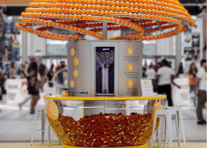 Narancshéj poharak eldobható műanyag helyett