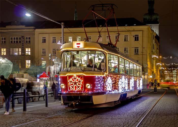 A legszebb Karácsonyi villamosok szavazás