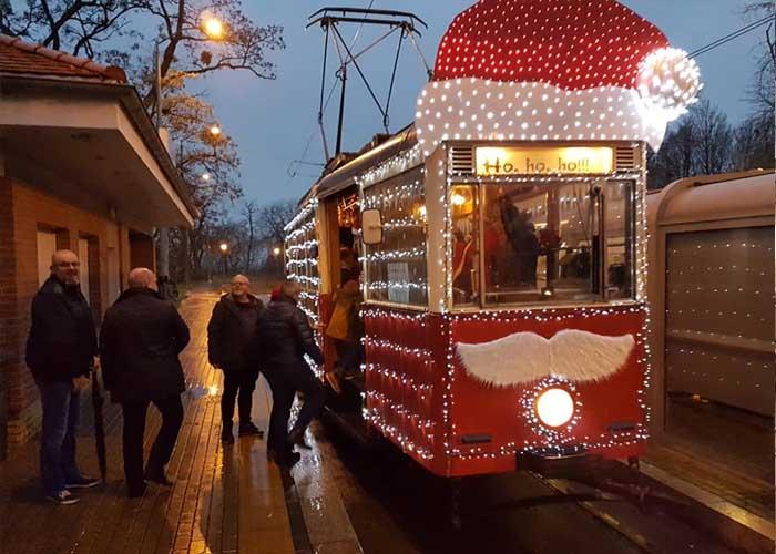 A legszebb Karácsonyi villamos szavazás