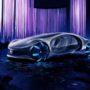 A VISION AVTR nevet kapta a Mercedes legújabb modellje, amelyet a 2020-as Las Vegasban megrendezett CES kiállításon mutattak be először.