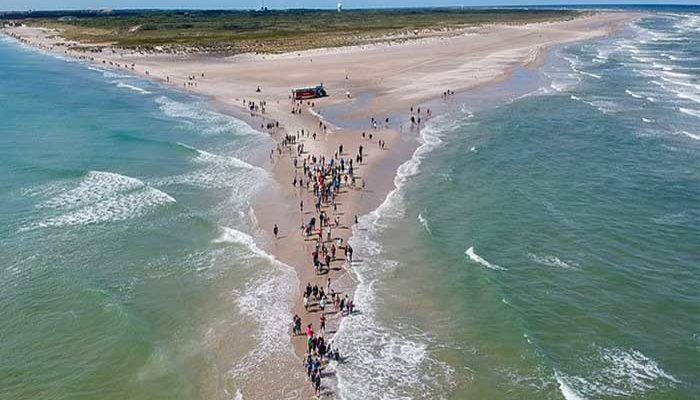 Dánia sétálhatunk a tengeren