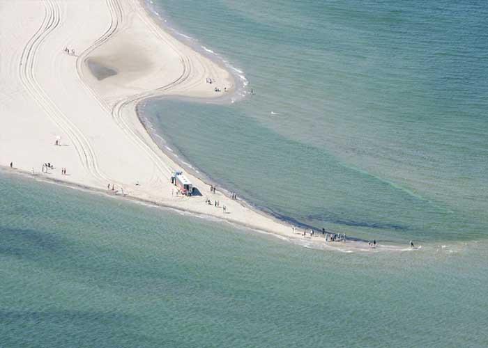 Dániában van egy hely, ahol sétálhatunk a tengeren