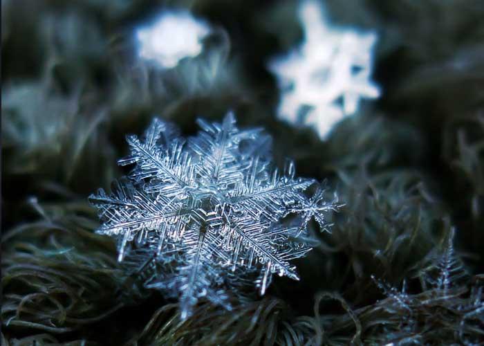 fotósorozat hópelyhekről