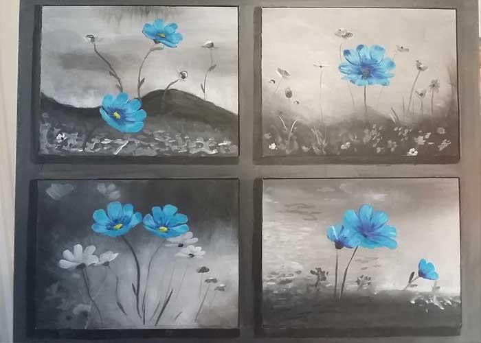 Nyugdíjasként kezdett festeni - jobb agyféltelés rajz kurzus hozta meg az áttörést