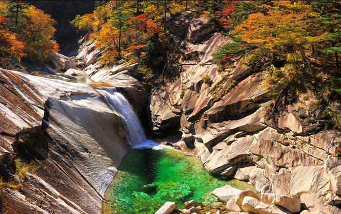 Korea Gyémánt hegy
