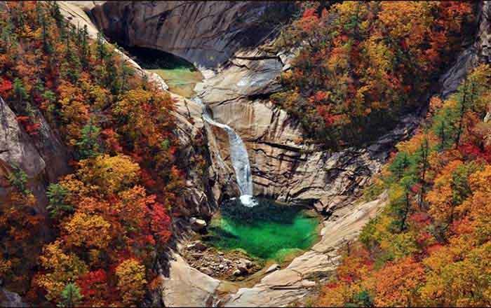 Korea legszebb hegye