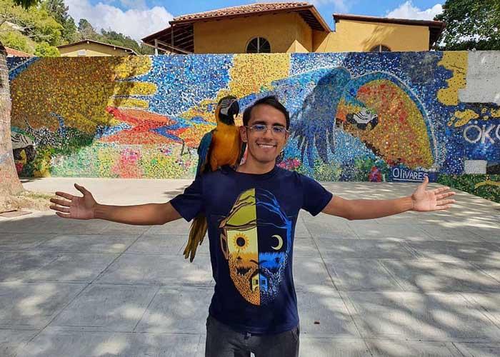 Venezuela kupak graffiti